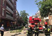 Incendiu la un bloc din Timișoara. 29 de persoane au fost evacuate
