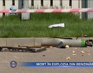 Mort în explozia din benzinărie