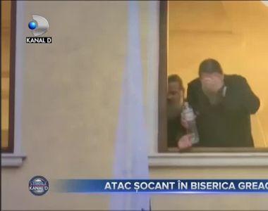 Atac șocant în Biserica Greacă