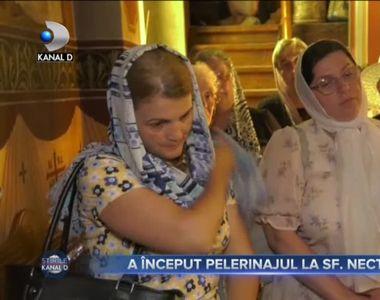 A început pelerinajul la Sfântul Nectarie