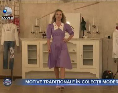 Motive tradiționale în colecții moderne