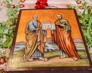 Sf. Petru şi Pavel 2021. Ce nume se sărbătoresc pe 29 iunie 2021? La mulţi ani Petru,...