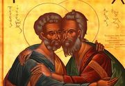 Cine au fost Sfintii Apostoli Petru si Pavel, praznuiti pe 29 iunie
