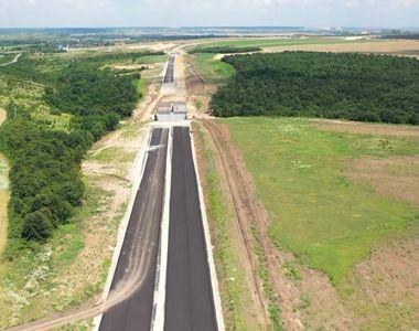 Progrese incredibile în construcția Drumului Expres Craiova-Pitești. Când va fi gata