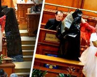 """VIDEO  - Senatoarea Diana Șoșoacă, scandal fără precedent în Parlament! """"M-a prins..."""