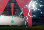 VIDEO   Avertizare Cod ROȘU de furtună! Care sunt zonele afectate