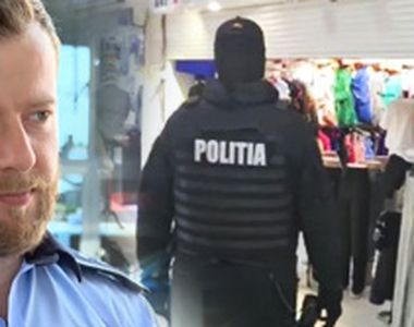"""VIDEO   Vânzătorii de """"fake-uri"""", alergați de polițiști"""