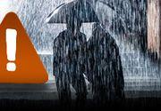 VIDEO | Ploile abundente pun stăpânire pe România! Peste 30 de județe sunt afectate de Codul Portocaliu