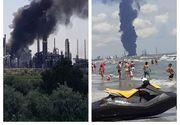 Nor toxic după explozia de la Petromidia. Ce spune mesajul Ro-Alert pentru avertizarea populației