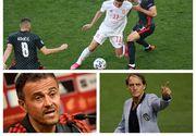 Prima semifinală de la Euro 2020: Spania - Italia. Ambele echipe s-au calificat cu mari emoții