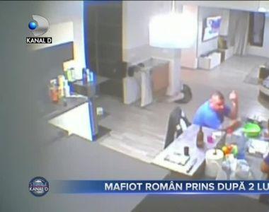 Mafiot roman prins dupa 2 luni