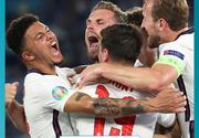 Anglia - Danemarca, a doua semifinală la Euro 2020. Englezii nu au primit niciun gol până acum, danezii au început cu două înfrângeri!
