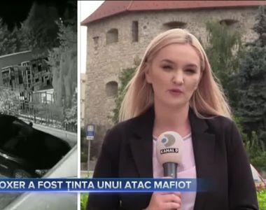 Un boxer a fost tinta unui atac mafiot