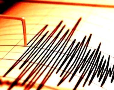 Cutremur de mare adâncime în România