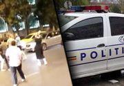 VIDEO | Bătaie ca în filme în fața Spitalului Floreasca din București. Polițiștii au intervenit de urgență