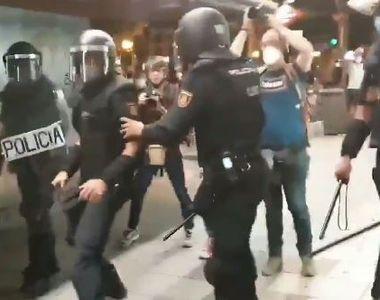 Proteste după moartea unui tânăr de 24 de ani. A fost bătut până la deces