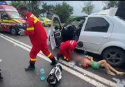 VIDEO   Vremea severă de pe litoral a cauzat incidente: un copil de 8 ani a fost lovit de o mașină în timp ce fugea pentru a se adăposti de ploaia puternică