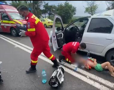 VIDEO   Vremea severă de pe litoral a cauzat incidente: un copil de 8 ani a fost lovit...