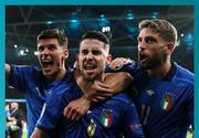 VIDEO   Italia, prima finalistă la Euro 2020, după ce a trecut de Spania la loviturile de la 11 metri
