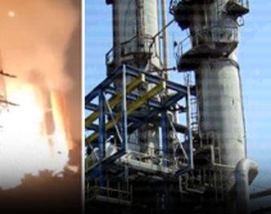 VIDEO | Explozie urmată de incendiu la combinatul Chimic Azomureș. Mesaj Ro-Alert după...