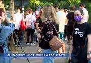 VIDEO | Au început înscrierile la facultăți