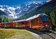 Un tren care transporta zeci de elevi a deraiat într-un râu din Munții Alpii