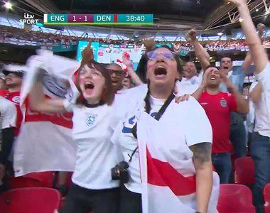 Euro 2020. O suporteră a Angliei a fost concediată după ce șeful a văzut-o la meciul cu...