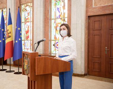 """Alegeri anticipate în Republica Moldova. Maia Sandu: """"Am votat pentru un Parlament..."""