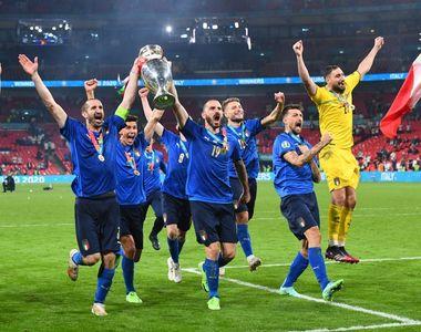Italia a câștigat Euro 2020, după ce a învins Anglia în finală, la loviturile de...