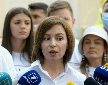 Partidul Acţiune şi Solidaritate, al președintelui Maia Sandu, a câștigat alegerile din...
