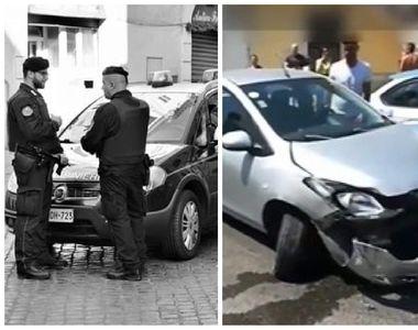 Un român aflat sub influența substanțelor interzise a călcat cu mașina doi polițiști