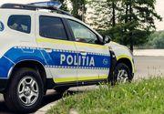 Accident șocant în Iași. Un vehicul agricol s-a răsturnat și a intrat într-un cap de pod