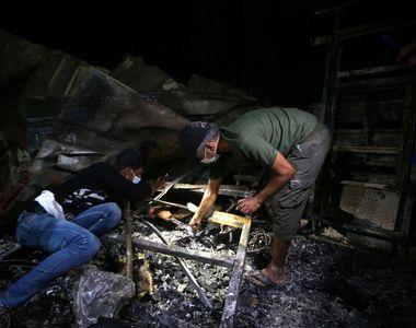 Incendiu devastator la un spital Covid-19 din sudul Irakului. Cel puțin 66 de morți -...