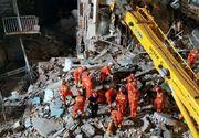 Tragedie în China. Cel puțin șaptesprezece morti, după ce un bloc s-a prăbușit