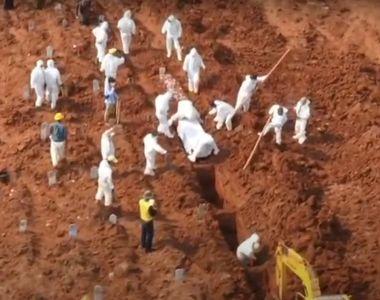 """""""Groparii nu mai fac față"""". Noul epicentru al pandemiei în Asia. India,..."""