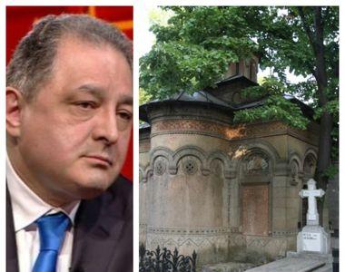 Marian Vanghelie a uitat să restituie monumentul funerar al generalului Lahovary, unde...
