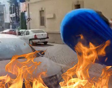 VIDEO   Noi detalii șocante apar în cazul femeii care a fost arsă de vie de vecinul ei....