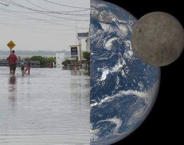 """""""Fazele Lunii"""" vor determina inundații peste tot în lume, avertizează NASA"""