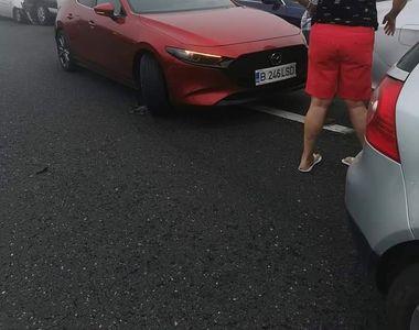 VIDEO - Accidente în lanț pe Autostrada Soarelui. A fost activat planul roșu de...
