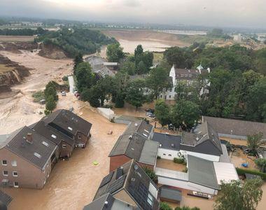 Inundații devastatoare în Germania: Numărul persoanelor care au murit a ajuns la 93