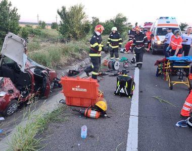 Accident rutier cumplit pe DN5. Victimă resuscitată la fața locului
