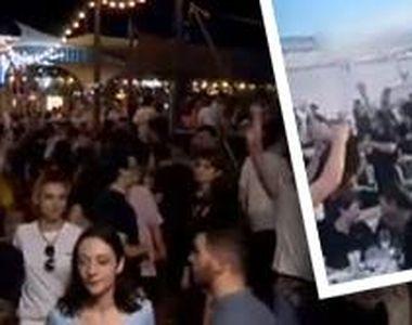 VIDEO| Aglomerație la mare. Oamenii s-au înghesuit pe plaje