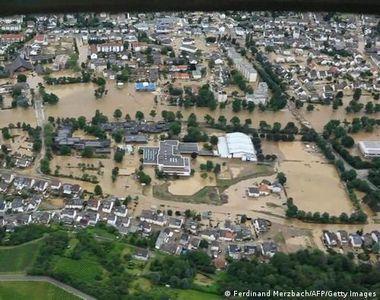 Germania este în stare de șoc. Numărul victimelor a ajuns la 165, în urma inundațiilor