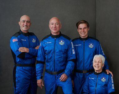 Unde poți vedea LIVE zborul lui Jeff Bezos în spațiu. Blue Origin este a doua companie...