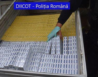 Patru persoane au fost reținute intr-un dosar pentru contrabandă de țigări. DIICOT...