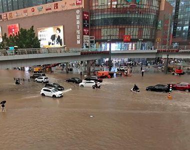 Inundații în China. Cel puțin 33 de persoane au murit