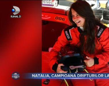 Natalia, campioana drifturilor la 18 ani