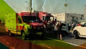 VIDEO | Tragedie pe o şosea din Sibiu. Patru oameni au murit