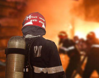 Incendiu la o hală de reciclare din Popești-Leordeni: 10 victime