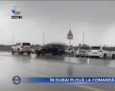 In Dubai ploua la comanda